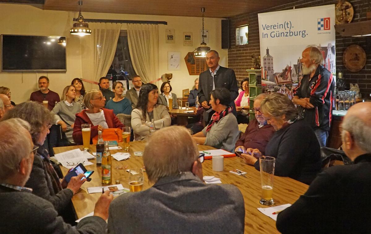 Runder Tisch Vereine Günzburg