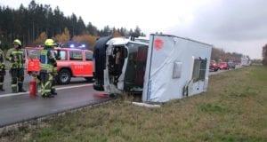 Unfall A8 Günzburg-Leipheim Wohnmobil A8 08112019 4