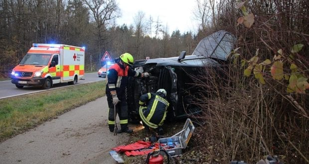 Unfall Autenried – Biberberg 28112019 5