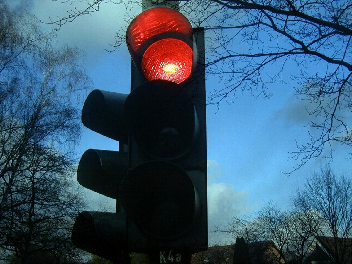 Ampel Rotlicht