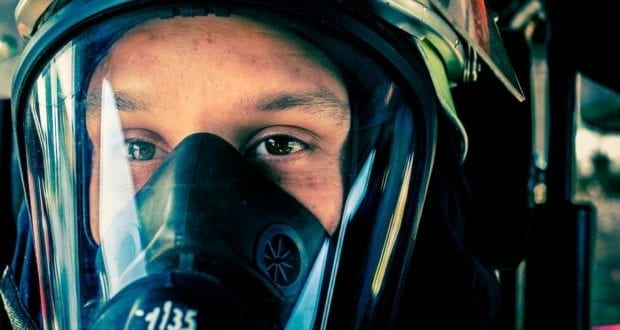 Atemschutz Feuerwehrmann
