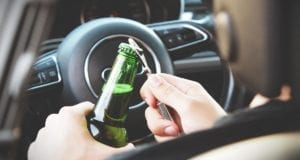 Autofahrer betrunken