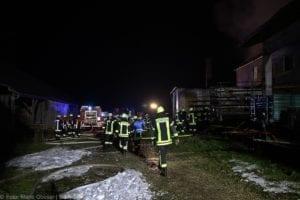 Brand Modelshausen – Landwirtschaftliches Anwesen