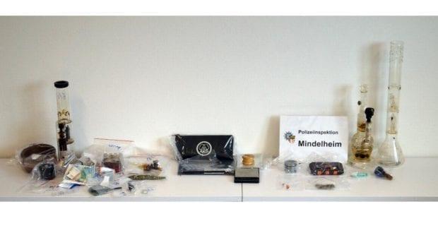 Drogenrazzia Mindelheim Polizei
