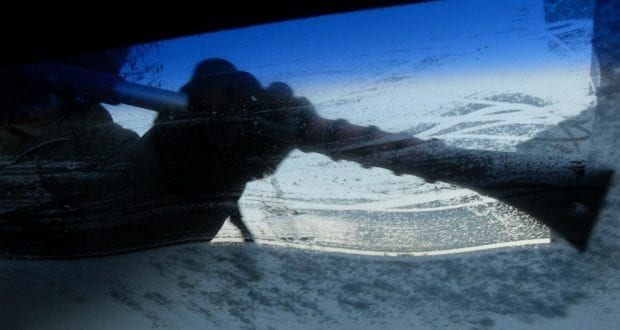 Eiskratzer Eis Schnee Windschutzscheibe
