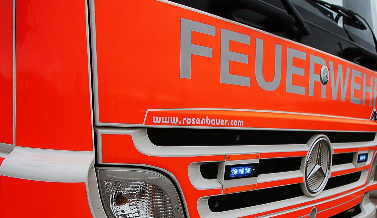Feuerwehrfahrzeug Front Lkw