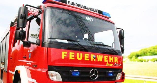 Feuerwehrfahrzeug Gundremmingen
