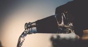 Flasche Trinken