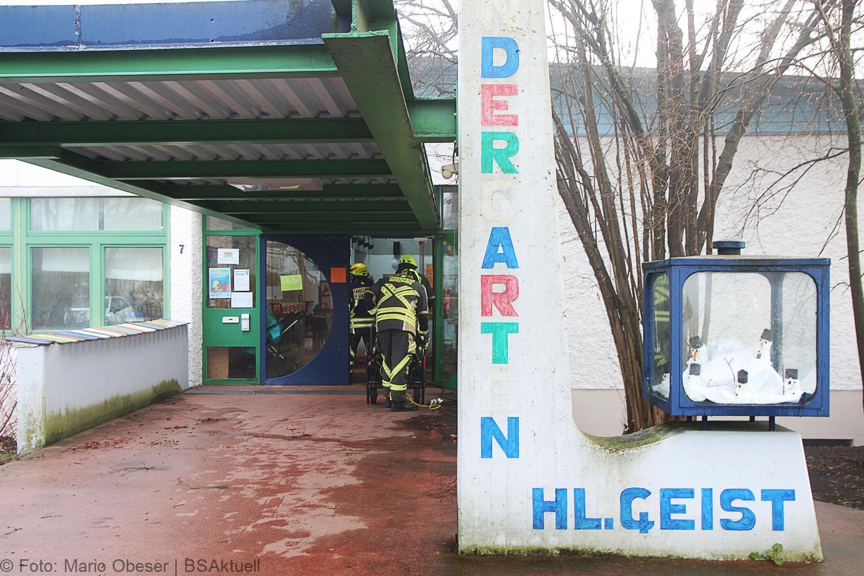 Günzburg Kindergarten Gasaustritt gemeldet 16122019 6
