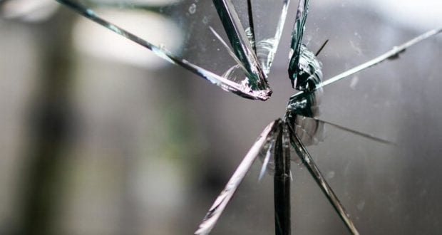 Glas Scherben