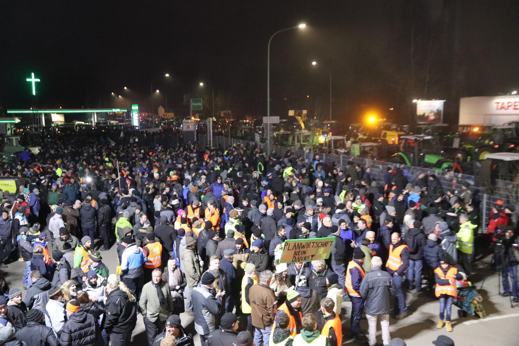 Memmingen Demo Landwirte 05122019
