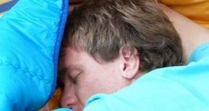 Schlafen Mann Bett
