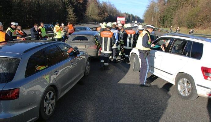 Unfall A7 Illertissen-Vöhringen 06122019 1