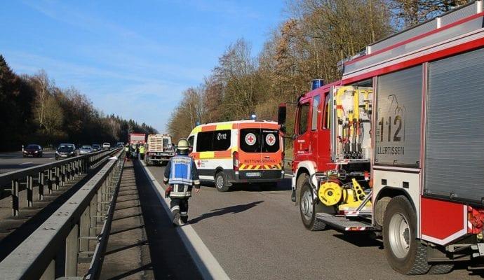 Unfall A7 Illertissen-Vöhringen 06122019 11