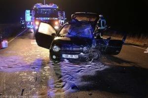Unfall B16 Gundelfingen 03122019 22