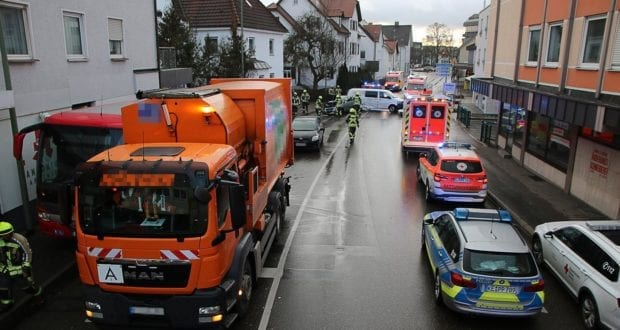 Unfall Guenzburg Sedanstrasse 12122019 20