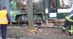 Augsburg Straßenbahn eingegleist 30012020