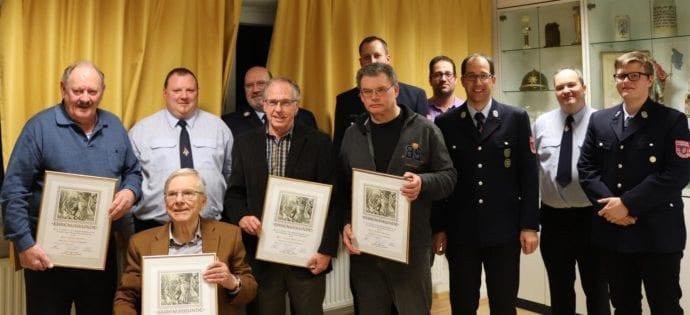Feuerwehr Aystetten Jahreshauptversammlung 2020
