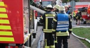 Feuerwehr Senden Einsatz