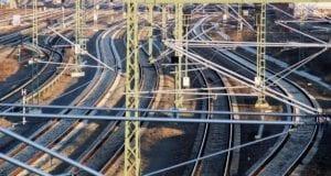 Gleise Bahnanlage Gleisanlage