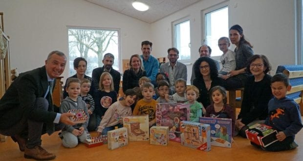 Kindergarten Kunterbunt Wasserburg Erweiterung