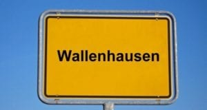 Ortsschild wallenhausen