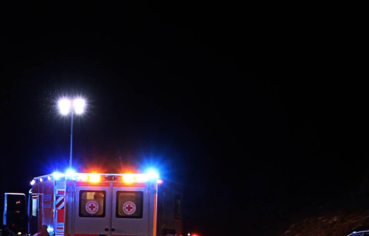 Rettungswagen Feuerwehrfahrzeug Ausleuchtung