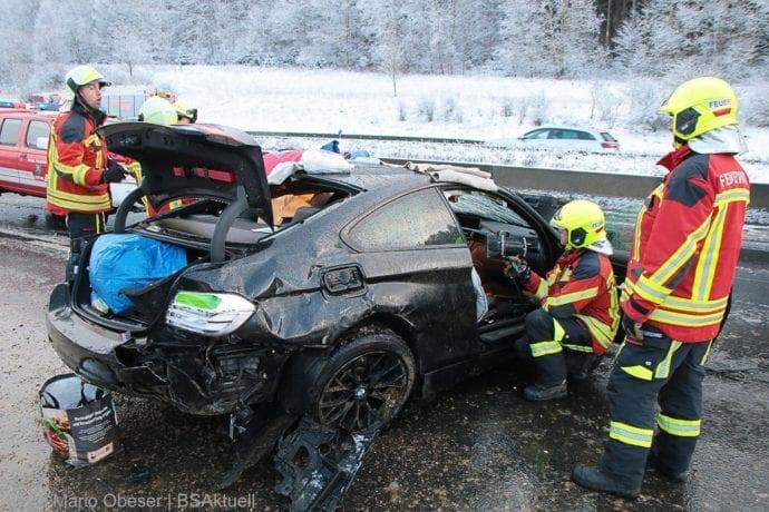 Unfall A8 Burgau – Guenzburg MAssenkarambolage 190120 16