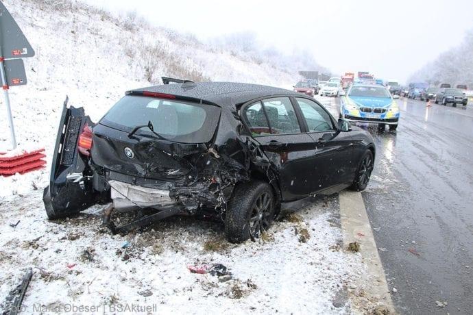 Unfall A8 Burgau – Guenzburg MAssenkarambolage 190120 3