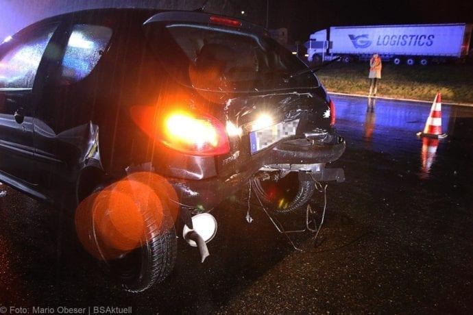 Verkehrsunfall A8 zwischen Leipheim und Günzburg am 17.01.2020