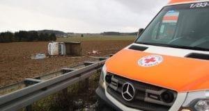 Unfall A8 Oberelchingen – Kreuz Ulm Elchingen 28012020 6