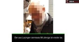 Vermisst Thomas Reuter Lauingen wieder da