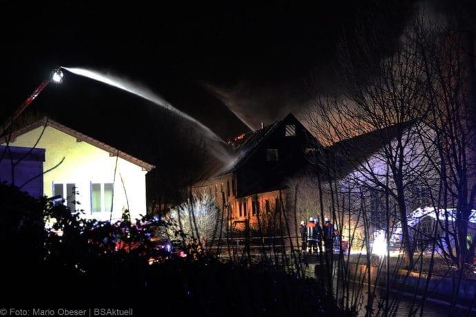 Brand Bellenberg ehemalige chemische Reinigung 13022020 10