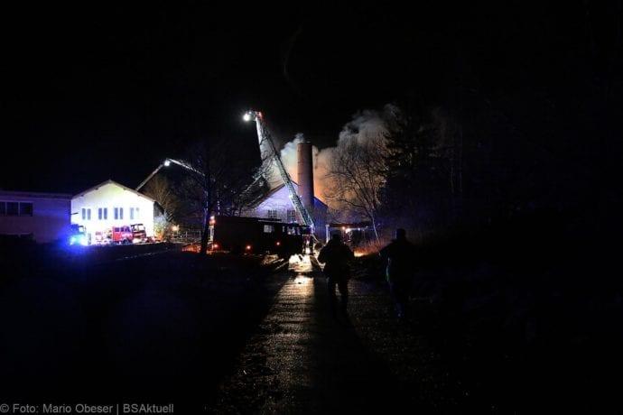 Brand Bellenberg ehemalige chemische Reinigung 13022020 12