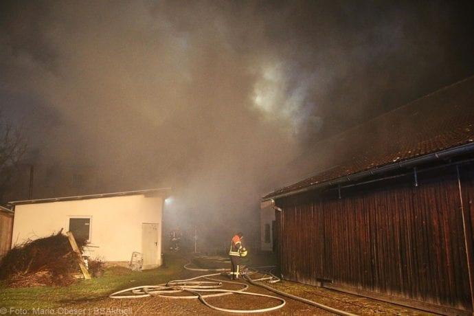 Brand Bellenberg ehemalige chemische Reinigung 13022020 15
