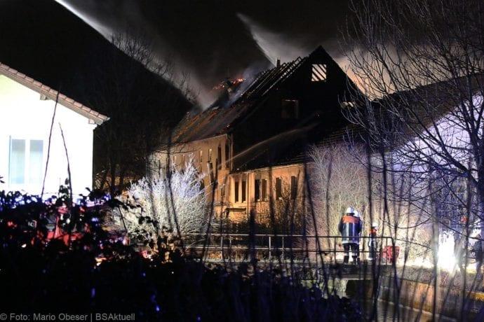 Brand Bellenberg ehemalige chemische Reinigung 13022020 8