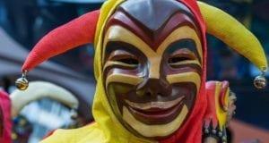 Fasching Maskerer