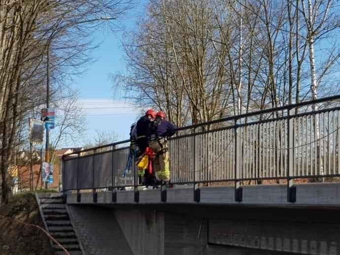 Feuerwehr Ichenhausen Absturzsicherung Lehrgang 2