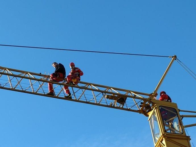 Feuerwehr Ichenhausen Absturzsicherung Lehrgang 4
