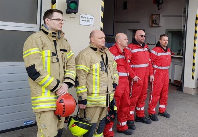 Feuerwehr Ichenhausen Absturzsicherung Lehrgang 9