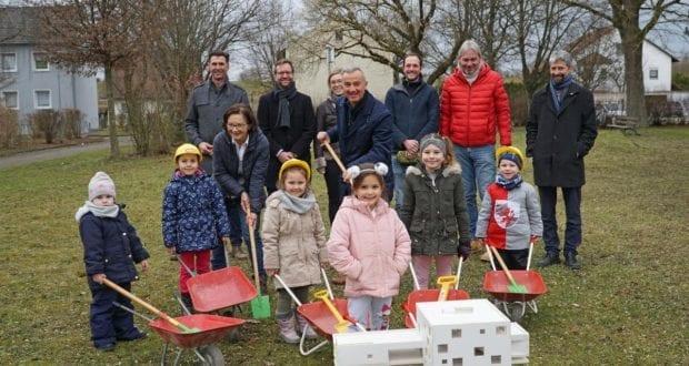 KitaWest Guenzburg Baustellenbesuch