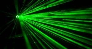 Laser gruener Laserstrahl