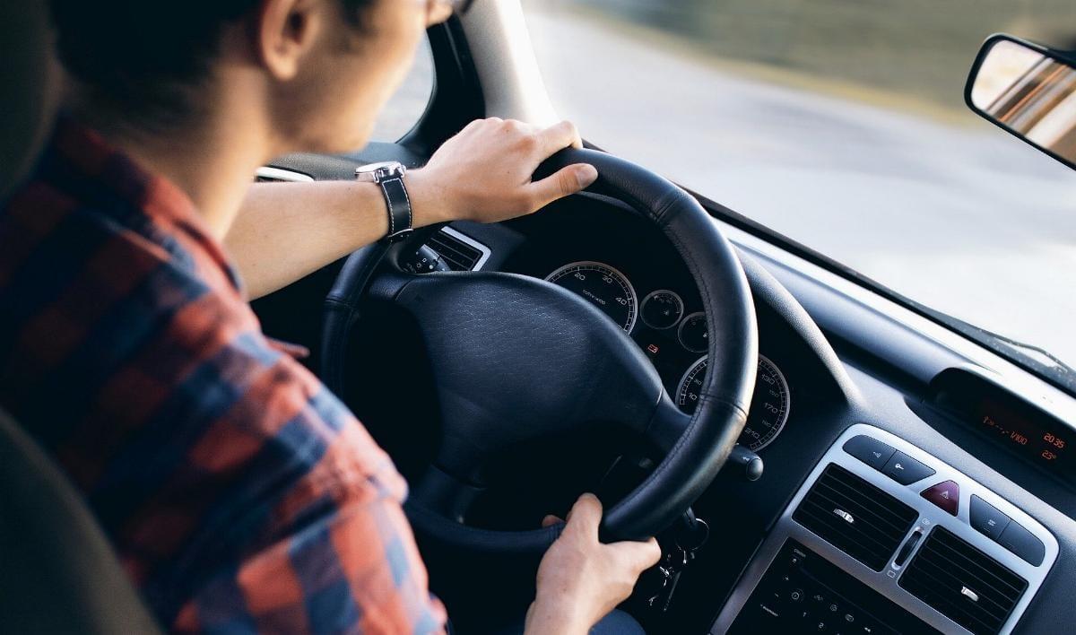 Lenkrad Pkw Autofahrer