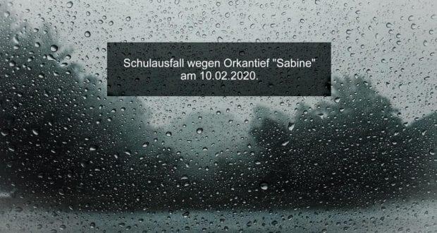 Orkantief Sabine Schulausfall