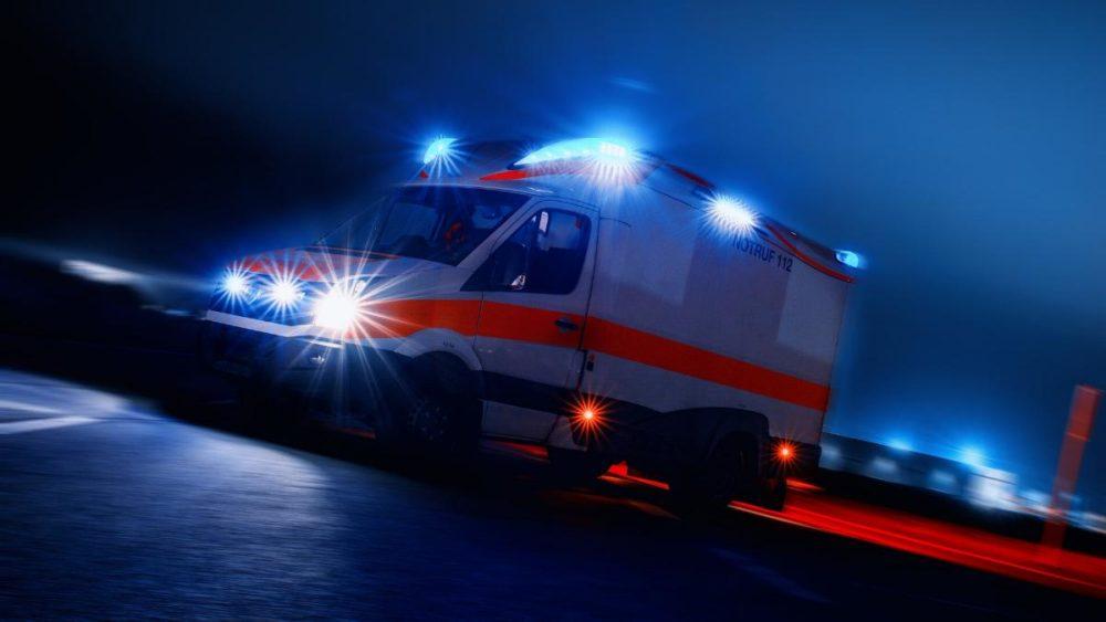 Rettungswagen Nacht