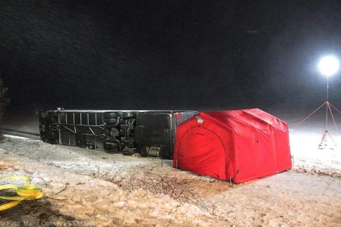 Unfall Reisebus B10 Kreuzung Tomerdingen 27022020 1