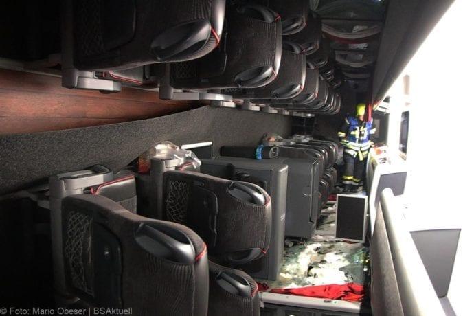 Unfall Reisebus B10 Kreuzung Tomerdingen 27022020 16