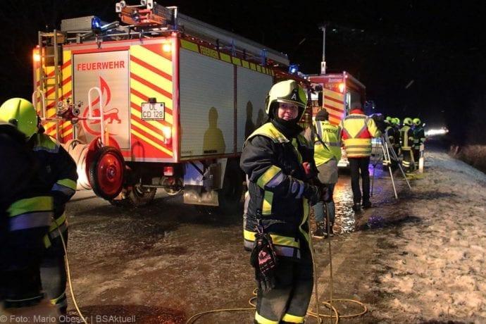 Unfall Reisebus B10 Kreuzung Tomerdingen 27022020 25