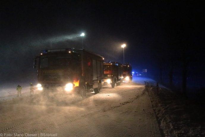 Unfall Reisebus B10 Kreuzung Tomerdingen 27022020 3