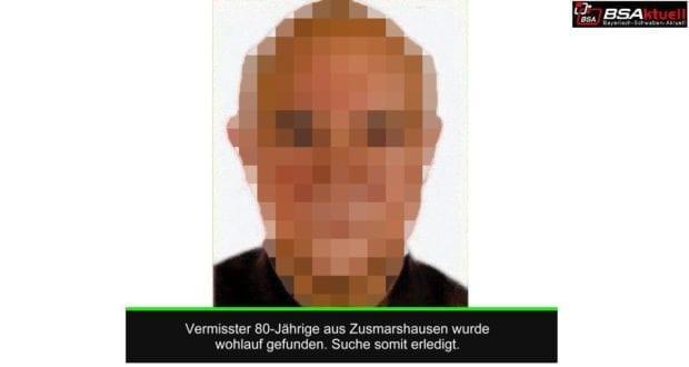 Vermisster Hermann R Zusmarshausen